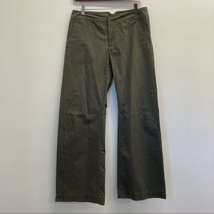 Faconnable Olive Green Chino Pants